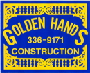 Golden Hands Construction - Original Sign Logo